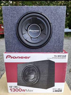 """Pioneer 12"""" sub in box. for Sale in Harrisburg, PA"""