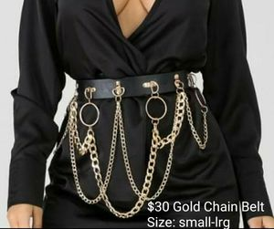 Gold chain belt for Sale in Livonia, MI