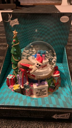 Nightmare before Christmas water globe for Sale in Whittier, CA