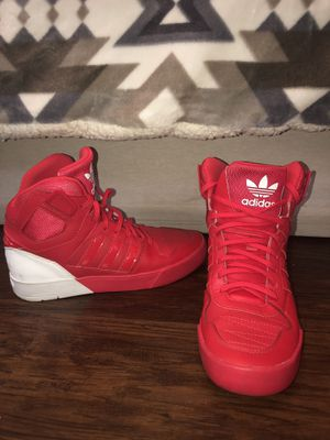 Red adidas shoes for Sale in West Palm Beach, FL
