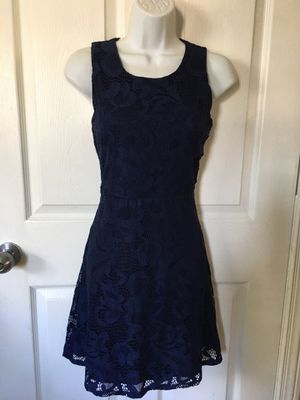 dark blue dress size small for Sale in Oak Lawn, IL