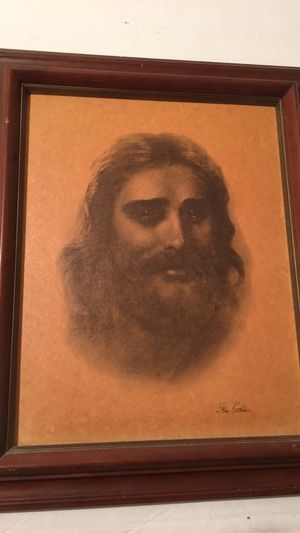Framed picture compassionate Christ for Sale in Indian Rocks Beach, FL