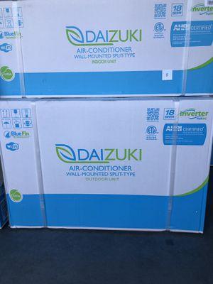 MINI SPLIT 12000 BTU ,AC/ HEAT PUMP WIFI ,INVERTER ,18 SEER, AHRI/ETL CERTIFIED for Sale in Lutz, FL