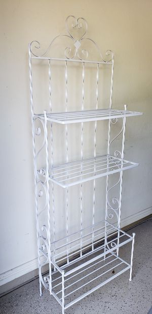 Bakers Rack - Wrought Iron for Sale in Phoenix, AZ