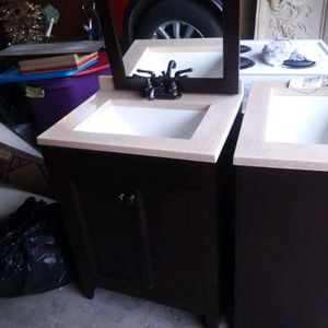 Two Like New Vanities for Sale in Tacoma, WA