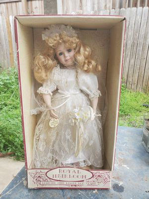 Limited addition antique porclien doll for Sale in San Marcos, TX