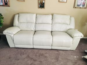 Reclining couch for Sale in Joliet, IL