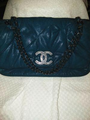 Authentic CHANEL Classic Iridescent Calfskin Shoulder Bag for Sale in Mount Dora, FL