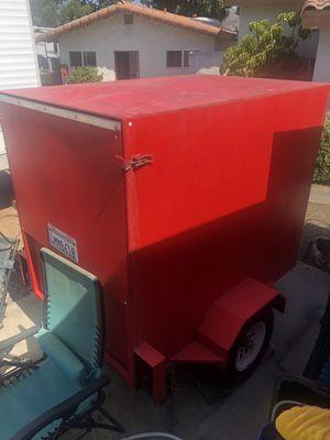 Enclosed utility trailer for Sale in El Cajon, CA
