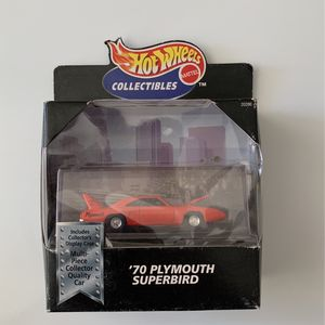 Hot wheels 70's Plymouth Super bird for Sale in Victorville, CA