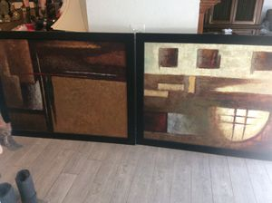 Pictures both for $200 for Sale in Rancho Cucamonga, CA