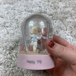 Precious moments happy trip snow globe for Sale in Longview, WA