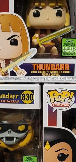 Thundarr The Barbarian 3 Pack ECCC 2021 Funko Pop for Sale in Renton,  WA