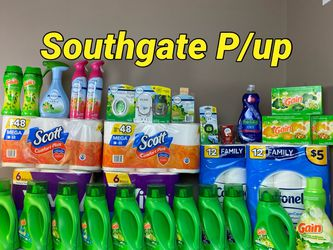 31 Items Gain Bundle With Scott Mega Rolls 12=48regular Rolls for Sale in Southgate,  MI