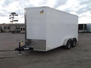 2020 7x14 Enclosed Trailer 7'6 Height for Sale in League City, TX