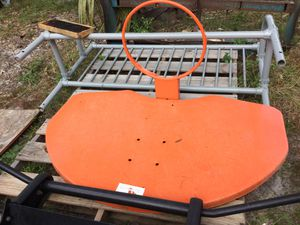 """All steel basketball backboard w)hoop *new"""" **note; IF IT'S POSTED, IT IS AVAILABLE"""" for Sale in Eustis, FL"""