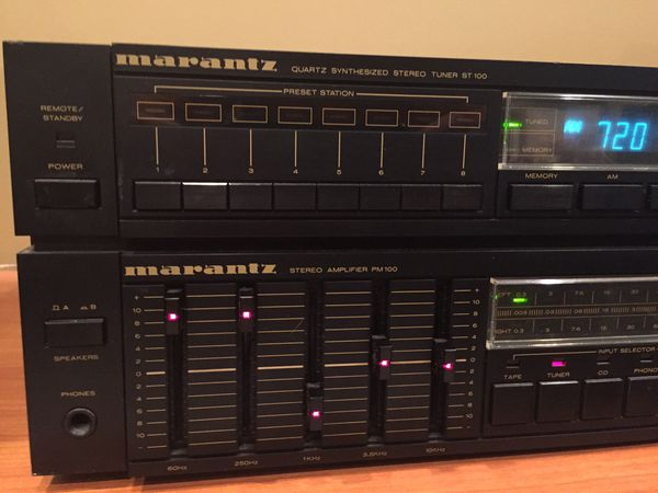 Marantz model TA100 Stereo Tuner Amplifier / Receiver