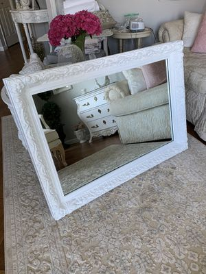 Beautiful Shabby chic Framed Mirror for Sale in Vancouver, WA