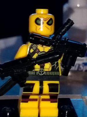 Yellow Deadpool Custom Minifigure for Sale in San Diego, CA