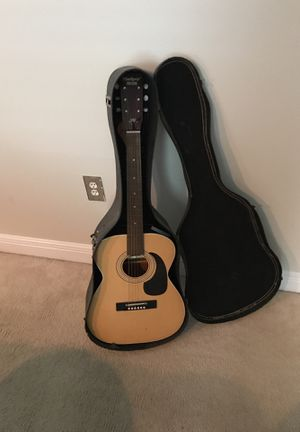 Used guitar, includes brand new strings, new stand, tuner, picks, and string tightener. Needs new case. for Sale in US