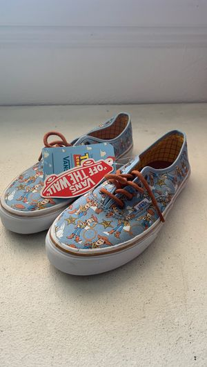 Toy story vans size 4 kids for Sale in Diamond Bar, CA