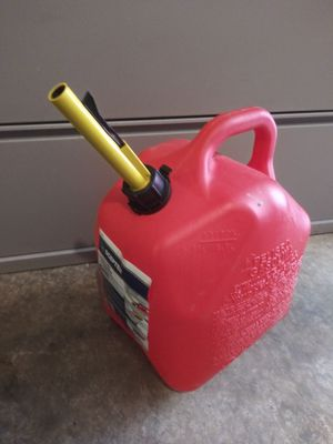 Like NEW 5 gallon Gas Container for Sale in Neffsville, PA