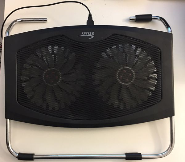 Spyker 15-17 Inch Laptop Stand with Twin 140 mm Cooling Fans