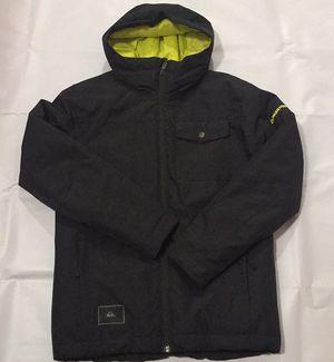 Quiksilver Boys Mission Snow Jacket sz 12 for Sale in Oceanside, CA