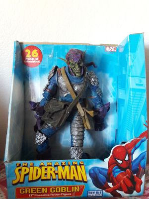 The Amazing Spider-Man: Green Goblin action figure, Marvel/Toy Biz for Sale in Palmdale, CA