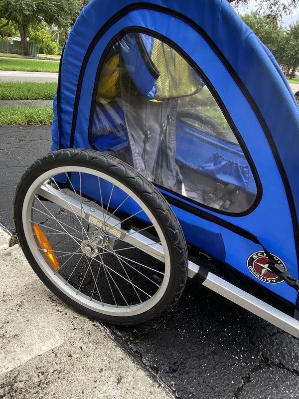 Schwinn Prescott bike trailer for 2 passenger