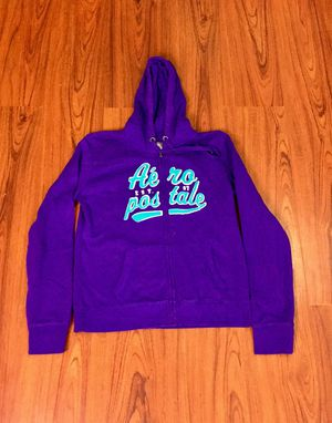 NWT Purple & Teal Aeropostale Zip Up Hoodie Sweatshirt XL for Sale in Pomona, CA
