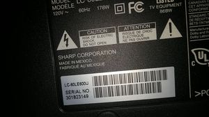 60 in Sharp Aquos LED TV for Sale in Molalla, OR