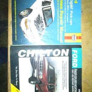 Ford Ranger/Explorer Chilton And Haines Repair Book for Sale in Troutdale, OR