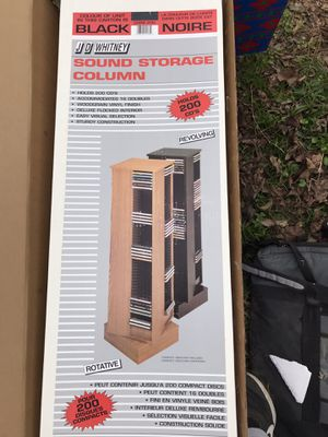CD Storage Tower for Sale in Alexandria, LA