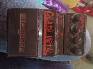 Digitech death metal pedal for electric guitar just pedal for Sale in Mount Vernon, WA