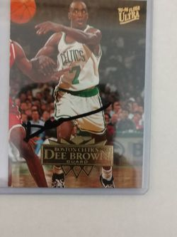 Dee Brown Autograph Card for Sale in Jacksonville,  FL