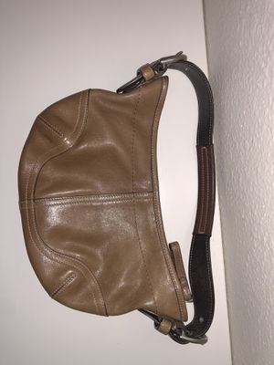 Tan COACH purse for Sale in San Diego, CA