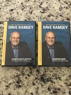 2 Dave Ramsey Financial Peace DVD's for Sale in San Tan Valley, AZ