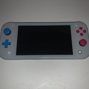 Pokemon Nintendo Switch Lite Zacian and Zamazenta Gamestop Refurbished for Sale in Fayetteville, NC