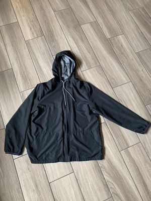 Men's basic nylon waterproof jacket size XL for Sale in North Las Vegas, NV