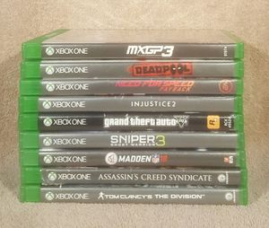 HUGE XBOX ONE VIDEO GAME TITLES*HMU 4 PRICES* for Sale in Tucson, AZ
