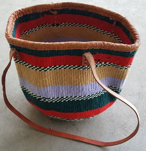 Jute hand woven tote bag... for Sale in Conway, AR