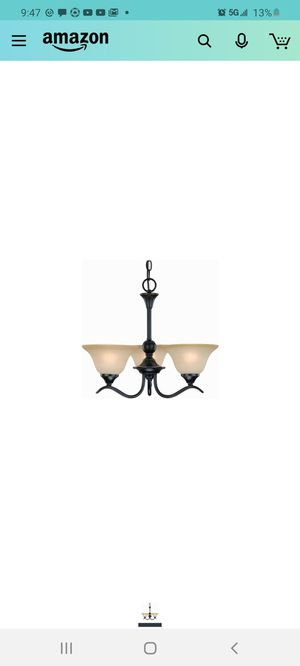 Dover 12-7622 Series Oil Rubbed Bronze 3-Light Chandelier for Sale in City of Industry, CA