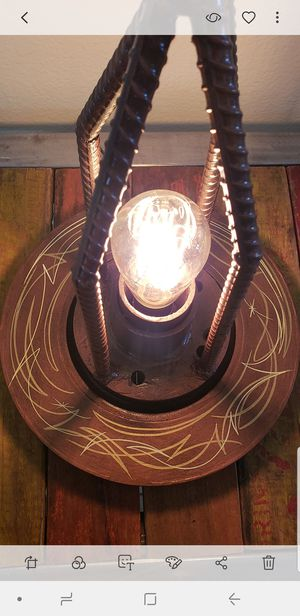 Awesome custom car nut Lamp kustom Pinstriped for Sale in Henderson, NV