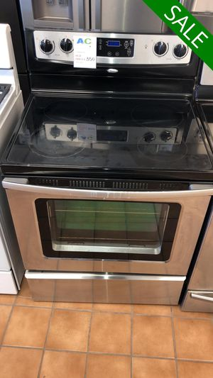 FREE DELIVERY!! Whirlpool CONTACT TODAY! Electric Stove Oven With Warranty #1496 for Sale in Fort Washington, MD