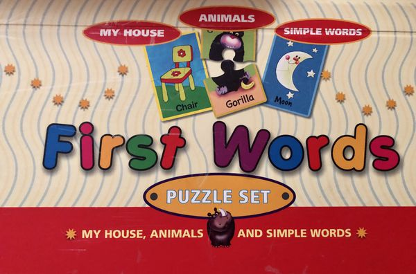 First Words Puzzle Set