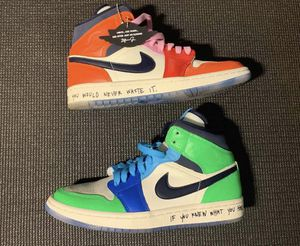 "Jordan 1 (mid) Melody Ehsani ""Fearless"" w 8 for Sale in Springfield, MA"