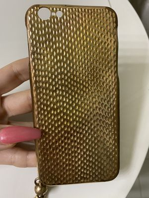 iPhone Case for 6/6s/7- 18kt gold plated-PRICE IS NEGOTIABLE! for Sale in Allentown, PA