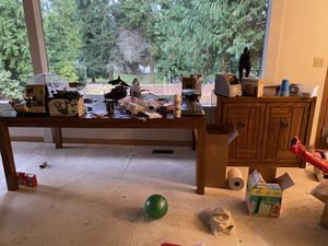 Dining table, buffet table & lots of other furniture-come to our estate sale for Sale in Auburn, WA