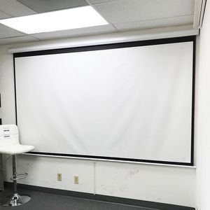 """New in box $75 Manual Pull Down 120"""" Projector Screen 16:9 Ratio Projection Home Theater Movie for Sale in El Monte, CA"""
